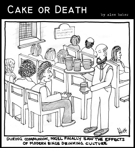 Cake or Death Cartoon 02 (9 May 2007R)