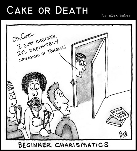 Cake or Death Cartoon 03 (16 May 2007)