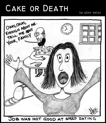 Cake or Death Cartoon 04 (23 May 2007)
