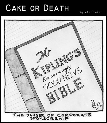 Cake or Death Cartoon 10 (04 July 2007)