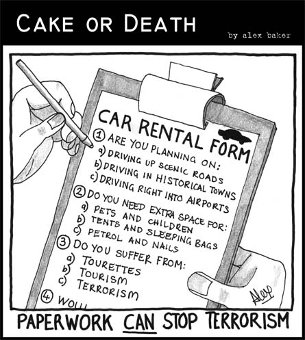 Cake or Death Cartoon 11 (11 July 2007)
