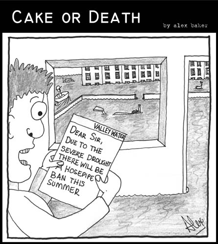 Cake or Death Cartoon 11 Take 2 (11 July 2007)
