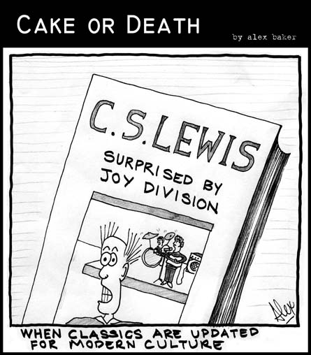 Cake or Death Cartoon 12 Take 2 (19 July 2007)