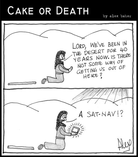Cake or Death Cartoon 40 (31 Jan 2008)
